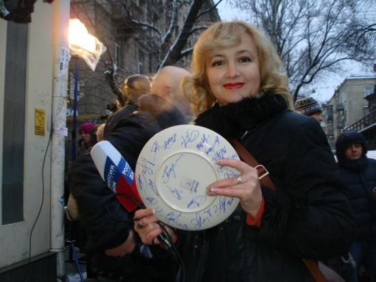 Галина Пилипенко. Фото Владимира Рузанова