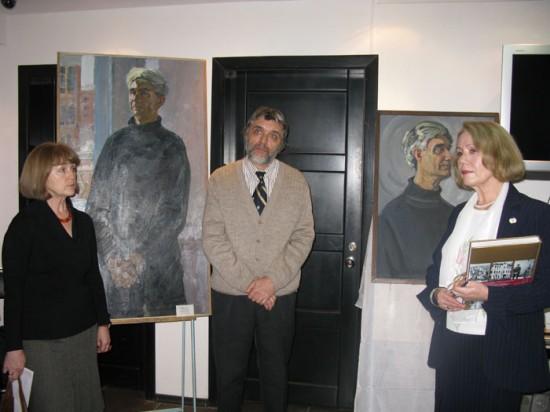 «Портрет Георгия Сербина» подарила сыну искусствовед Галина Скопцова