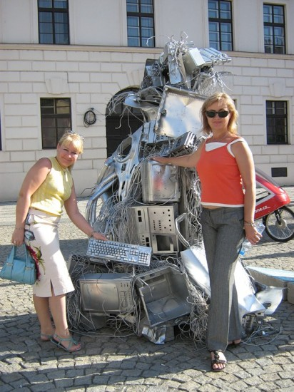 Людмила Андрейченко, Галина Пилипенко. биеннале, Прага