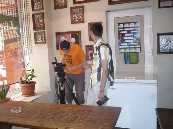 Там мы ВГИКовцы и записали интервью со мной.