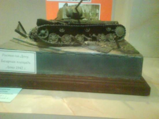 Советский танк КВ - Клим Ворошилов
