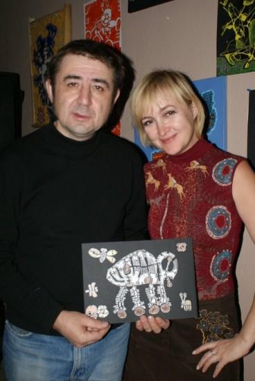 Валерий Примеров и Галина Пилипенко. Фото С.Козаченко