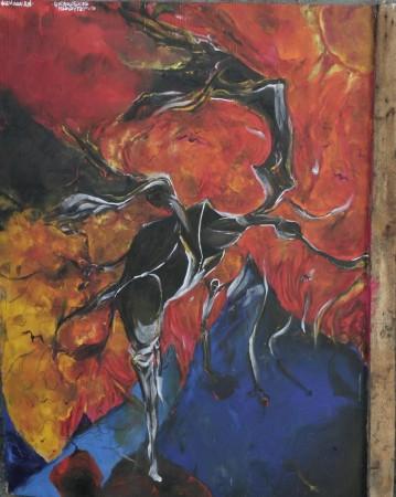 Новые живописные работы Альберта Погорелкина