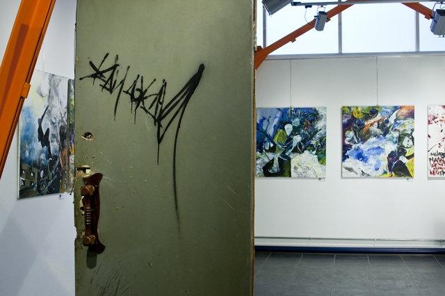 Выставка Альберта Погорелкина. Фото Павла Платонова