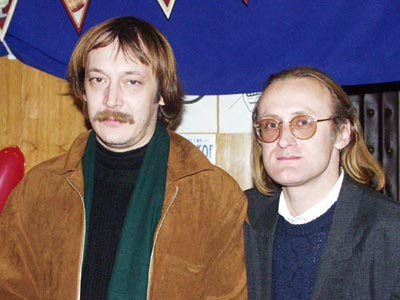 Влад Ветров и Роман Нестеренко