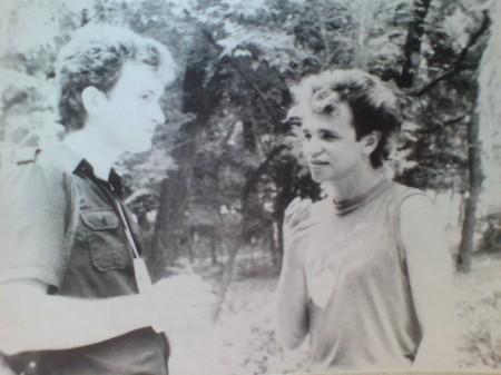 Валерий Посиделов и Святослав Задерий. Рок-фестиваль в Бердянске. Фото Галины Пилипенко