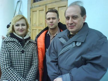 Галина Пилипенко, актёры Кирилл Плетнёв, Иван Агапов