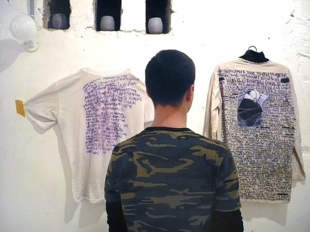 Одёжки Погорелкина ближе к искусству, чем к телу.