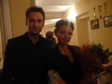 Фотограф Глеб Дэйлов с супругой. она же - художник и фотограф Ира Грабкова