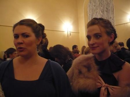 Наташа Чавкина и Света Соболева