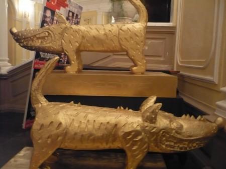 Первые церемонные собаки