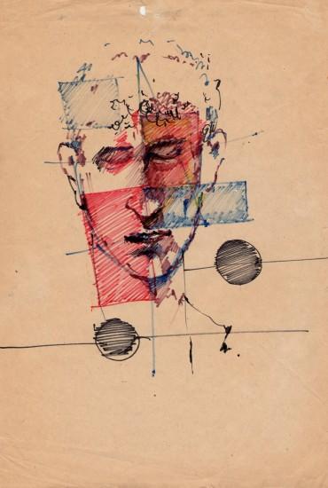 Валерий Посиделов. Портрет рисовал Сергей Тимофеев (ПЕКИН РОУ РОУ)