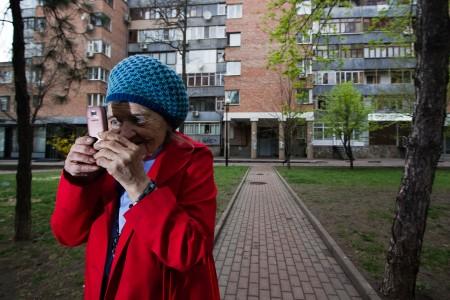 Эльфрида Павловна Новицкая. Фото Андрея Крашеницы