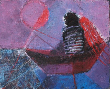 Anna Tarasenko Удочки 47х37.5 см/ холст, масло/2011