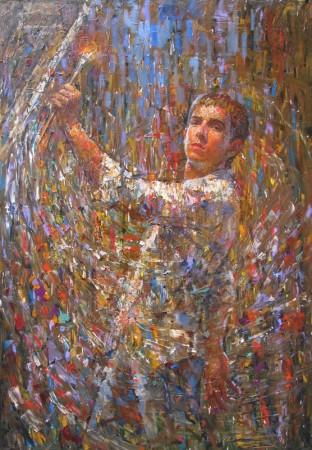 Александр Савеленко. Автопортрет