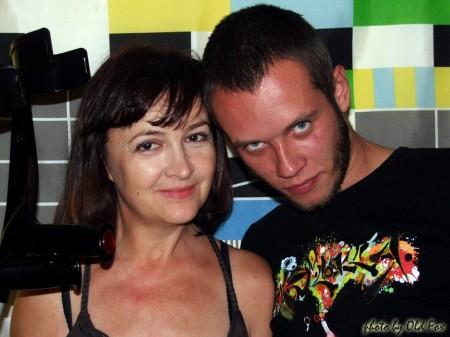 Галина Пилипенко и Алик Погорелкин