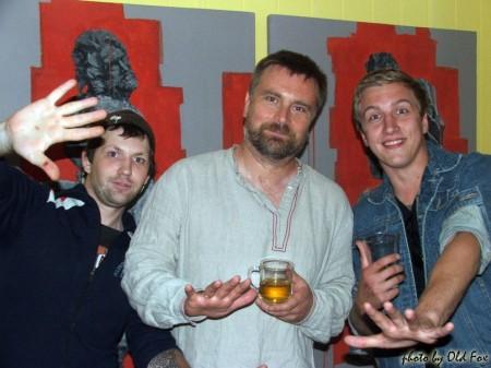 Витёк Хитров, Игорь Глухов и Женёк