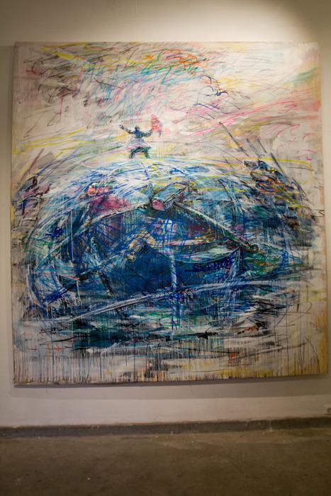 Выставка «Atlantis» Валерия Кошлякова на 4-ой московской биеннале