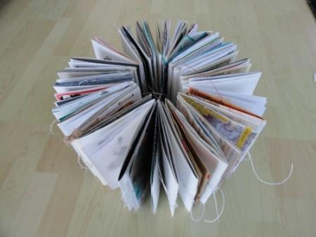 А это собранные страницы книги асемик 16 №3 ( в ней 15 человек и среди них - там наши замлячки -Виктория Барвенко и Света Песецкая. У каждой - по 4 страницы.