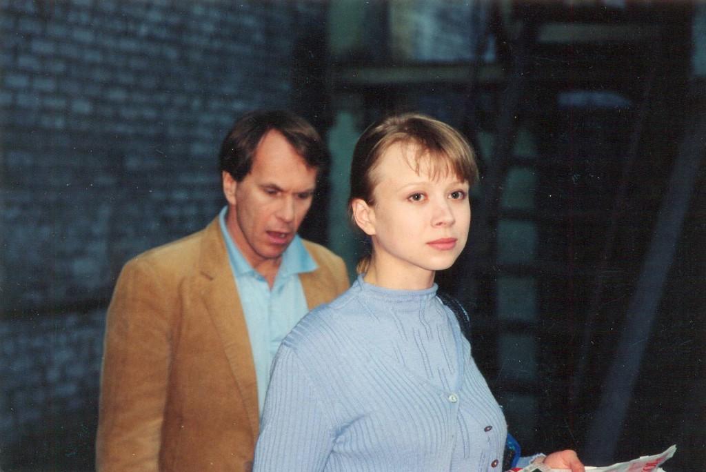 Алексей Гуськов и Саша Куликова