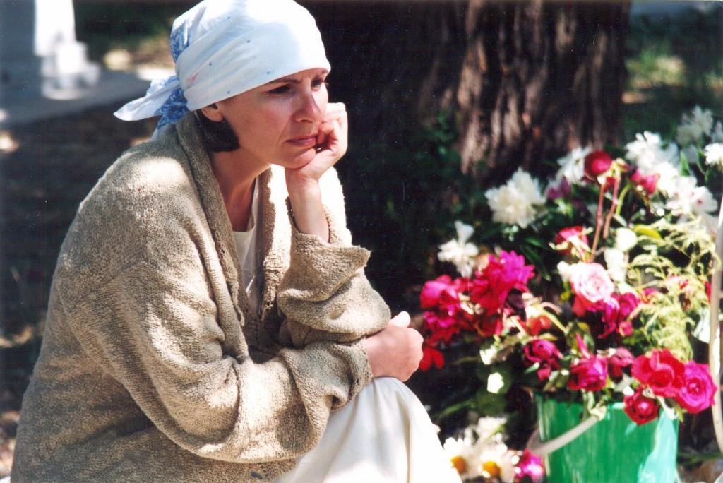 Елена Кудаева готовится к роли трупа. Или трупной роли?