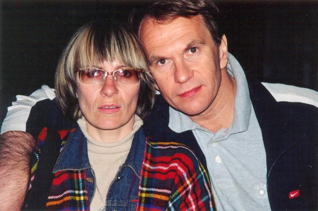 Лена Кудаева и Алексей Гуськов
