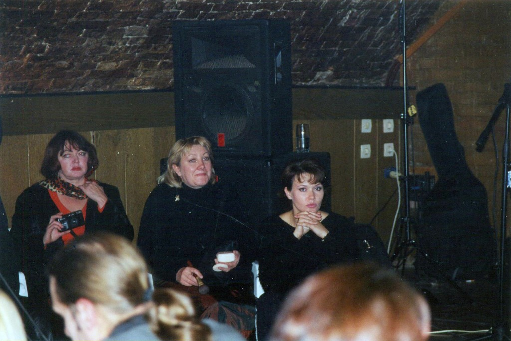 Художники по гриму - в центре - Татьяна Матяшова, справа - Наташа Ефремушкина