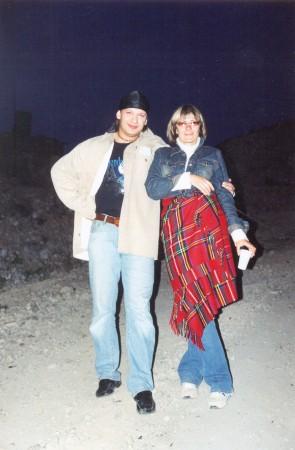 Лена Кудаева и Марьянов