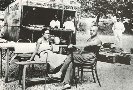 Лиля и Маяковский в Крыму, 1926 г.