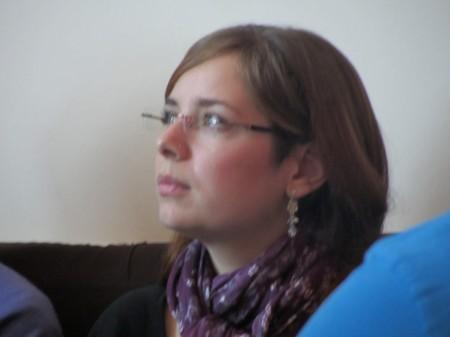 """Марья Зелинская - драматург, соавтор сценария """"Местное время"""""""