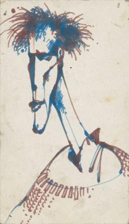 Автопортрет Тимы, предположительно 1988