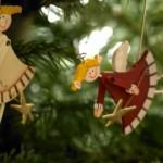 Конкурс авторских елочных игрушек и елей