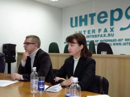 Денис Третьяков, Галина Пилипенко. Фото: Алла Баранникова