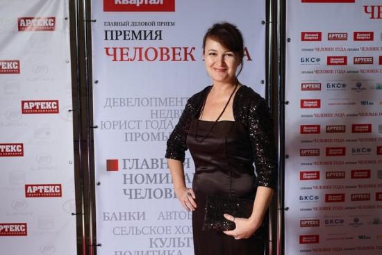 """Галина Пилипенко, ДОНТР, победительница в номинации """"Блогер года"""""""