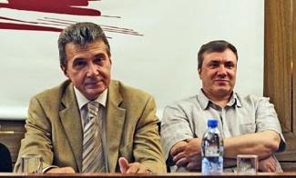 Вячеслав Кущев и Алексей Фадеечев. Фото: province.ru