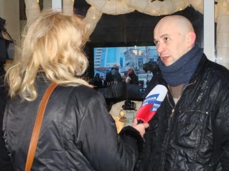 Сегодня, 10 декабря, в Ростове-на-Дону на митинге против фальсификации результатов выборов в Госудуму полиция задержала кинорежиссера Алекандра Растогуева