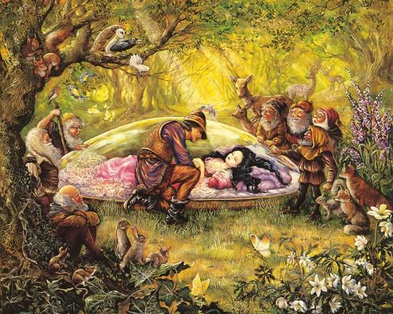 Сказка «Белоснежка и семь гномов».