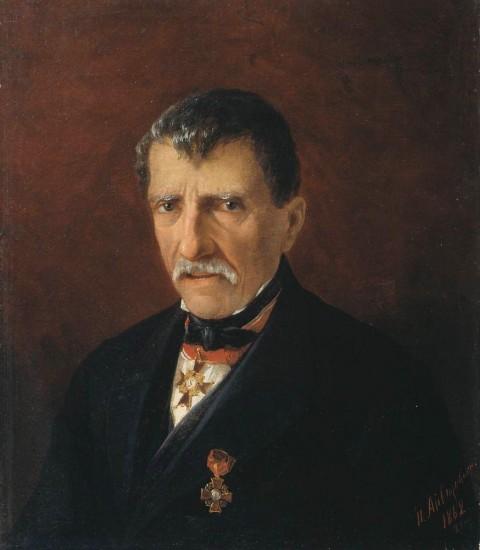 И.Айвазовский. Портрет А.Халибяна, городской главы Нового Нахичевана. 1862