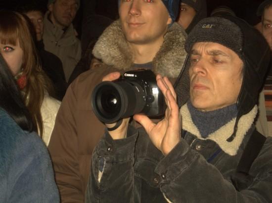 Уличный фотограф Андрей Крашеница