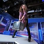 Корреспондент Эля Могилевская и колготки