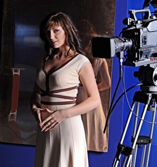 """Ангелина Галич: """"Я не боюсь на съёмках задавать банальные вопросы"""". Фото: Глеб Садов"""