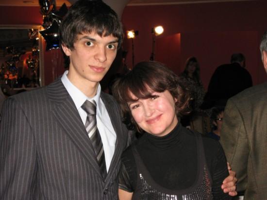 Юра Завязкин и я. Фото: Сергей Михалыч Ковалёв