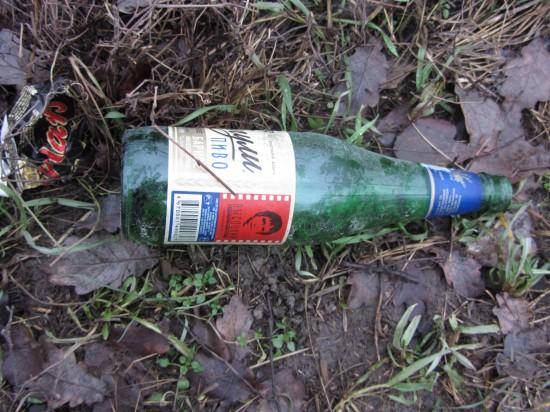 Пилипенко Галина  сфотографировала Высоцкого. На бутылке пива.