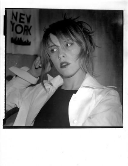 """Художница Светлана Песецкая на выставке """"Египетские ночи"""". Фото: А. Кисляков.1995 год"""