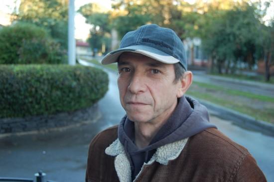 Александр Кисляков. Таганрог. 2009. Фото: Сергей Ильич.