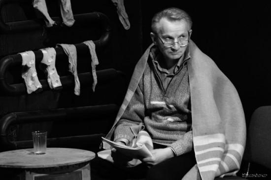 Актёр Владимир Воробьёв. Класс Бенто Бончева, фото: Екатерина Серебрякова