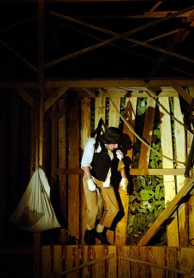 Сергей Беланов в спектакле Юрия Мельницкого. Фото Валентина Картавенко