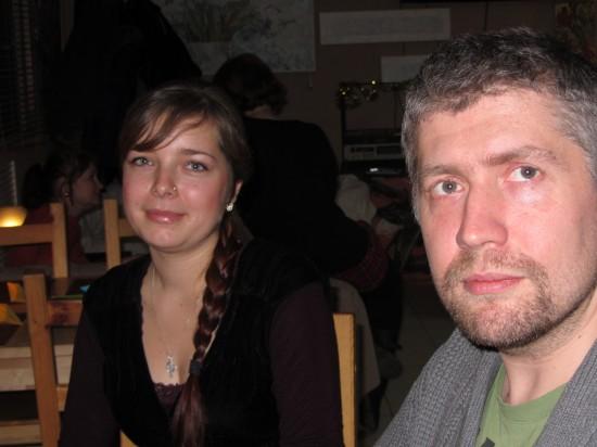Драматург Марья Зелинская и фотограф Миша Малышев