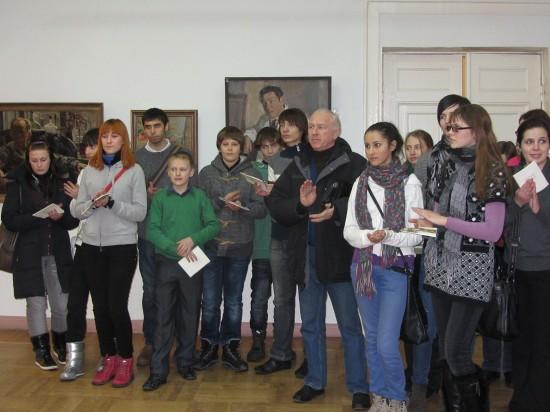 Открытие выставки памяти  ростовского художника Семёна Скопцова