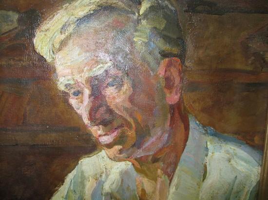 Семён Скопцов. Портрет поэта Александра Рогачёва